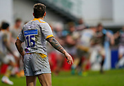 Wasps Full-back Matteo Minozzi during a Gallagher Premiership Round 10 Rugby Union match, Friday, Feb. 20, 2021, in Leicester, United Kingdom. (Steve Flynn/Image of Sport)