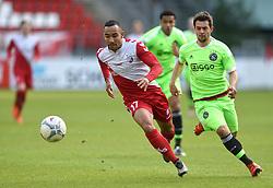 13-12-2015 NED: FC Utrecht - AFC Ajax, Utrecht<br /> Utrecht verslaat Ajax opnieuw in de Galgenwaard 1-0 / Sean Klaiber #17 USA, Amin Younes #11