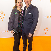 NLD/Katwijk/20171030 - 7 jaar Soldaat van Oranje - De Musical, Prins Pieter Christiaan en partner prinses Anita van Eijk