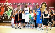 DESCRIZIONE : Championnat de France Media Day Palais des congres Ligue Nationale de Basket <br /> GIOCATORE : Andrew ALBICY (Paris-Levallois) Alexis AJINCA (Strasbourg SIG)<br /> SQUADRA : <br /> EVENTO : lnb<br /> GARA : <br /> DATA : 20/09/2012<br /> CATEGORIA : Basketball Homme LNB<br /> SPORT : Basketball<br /> AUTORE : JF Molliere<br /> Galleria : France Basket 2012-2013 Reportage<br /> Fotonotizia : LNB Basket Pro A<br /> Predefinita :