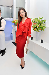 DOINA CIOBANU at a London Fashion Week Party hosted by rewardStyle at IceTank, 5 Grape Street, London on 21st February 2016.