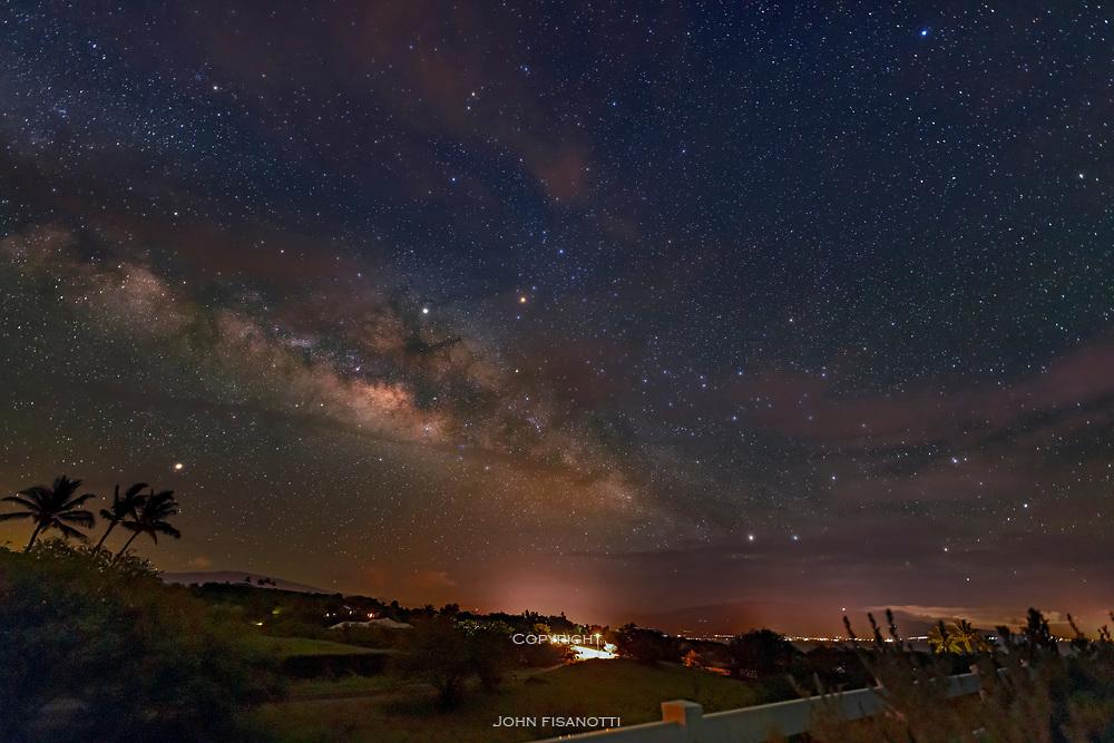 Milky Way over Hawaii