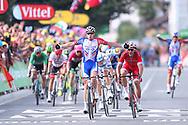 Arrival, Arnaud Demare (FRA - Groupama - FDJ) winner during the 105th Tour de France 2018, Stage 18, Trie sur Baise - Pau (172 km) on July 26th, 2018 - Photo George Deswijzen / Pro Shots / ProSportsImages / DPPI