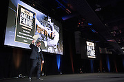 LAS VEGAS, NV - JULY 10:  Don Frye takes the stage as he is inducted into the UFC Hall of Fame at the Las Vegas Convention Center on July 10, 2016 in Las Vegas, Nevada. (Photo by Cooper Neill/Zuffa LLC/Zuffa LLC via Getty Images) *** Local Caption *** Don Frye