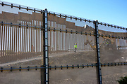 Construction Work in San Ysidro at the Mexico Border