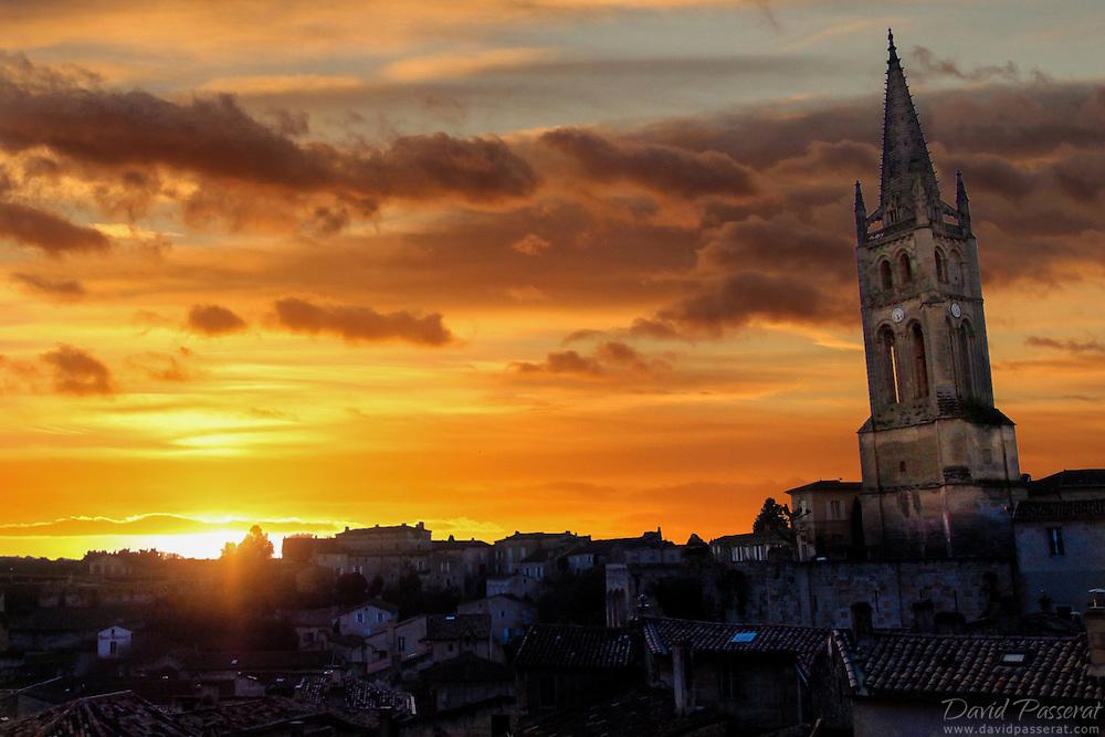 Saint-Emilion sunset