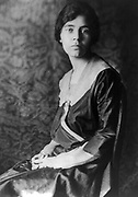 Alice Paul 1917.  American feminist and social reformer, born into a Quaker family in Moorestown, New Jersey.  She devoted her whole career to fighting for equal rights for women.