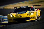 June 13-18, 2017. 24 hours of Le Mans. 64 Corvette Racing, Corvette C7R, Oliver Gavin, Tommy Milner, Marcel Fassler
