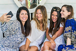 Soleil Moon Frye has cause for double celebration after reaching her weight goal of dropping 42lbs — appropriately just in time for her 42nd birthday. The Punky Brewster star, who has four children with her television producer husband Jason Goldberg, showed off the results as she celebrated her birthday poolside with her best friends in Venice Beach, California. Soleil shed the pounds with the help of meal delivery and weight-loss plan Nutrisystem, for which she is an ambassador. The actress, who turned 42 on August 6, was pictured with her best friends taking a dip in the pool, and also enjoyed a spot of spa time, shopping and dining. Soleil joined the Nutrisystem plan in 2015, the year following the birth of her third child, son Lyric Sonny Roads, and turned to the program once again after the birth of her second son, Story, the next year. Along with eating healthily, Soleil — who also has two daughters, Poet Sienna Rose and Jagger Joseph Blue — works out with a trainer so she can focus on toning her body.  She said: 'After Story was born, I knew I wanted to join Nutrisystem again to help me lose the baby weight since it worked so well the first time. This last year, I've been focused on keeping up with my health habits and wanted to get those last few pounds off. 'I'm excited to say that I am finally at my goal weight of 42 pounds lost! 'For me, it's about feeling like my best self and I feel better than now I did in my twenties.' Talking about juggling four kids with her weight loss goal, Soleil went on: 'I'm also a busy mom of four beautiful kids and I know I need to lead by example so I'm not going to starve myself in front of them. 'We love cooking as a family, and being able to teach my kids about food is a great way for me to stay on track, but also show them that mommy is healthy and happy.'  Speaking about her birthday celebration in Los Angeles. Soleil said: 'Venice is one of my happy places and it was so nice to be a