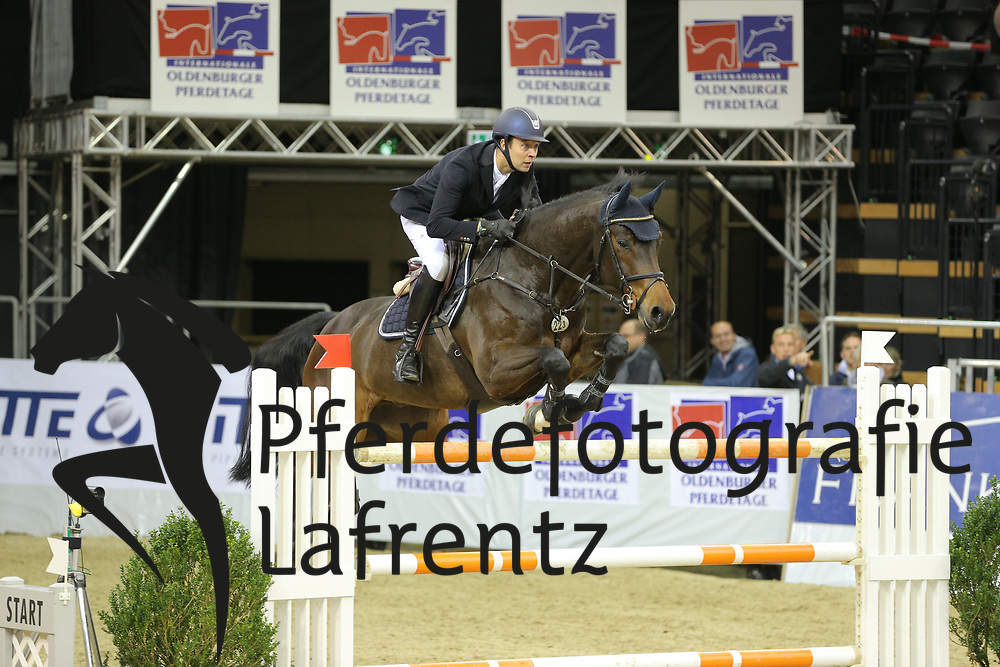 Andersen, Lars Bak Liconto del Pierre<br /> Oldenburg - Oldenburger Pferdetage 2013<br /> Internationales Springen<br /> © www.sportfotos-lafrentz.de / Stefan Lafrentz