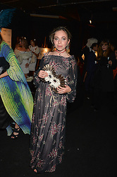 AYESHA SHAND at The Animal Ball presented by Elephant Family held at Victoria House, Bloomsbury Square, London on 22nd November 2016.