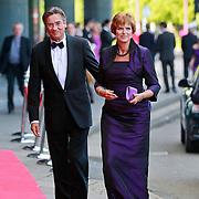 NLD/Amsterdam/20110527 - 40ste verjaardag Prinses Maxima, Maxime Verhagen en partner Annemieke