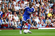 Toumani Diagouraga of Brentford in action. Skybet football league championship match, Burnley  v Brentford at Turf Moor in Burnley, Lancs on Saturday 22nd August 2015.<br /> pic by Chris Stading, Andrew Orchard sports photography.