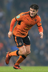24th October 2017 - Carabao Cup (4th Round) - Manchester City v Wolverhampton Wanderers - Ben Marshall of Wolves - Photo: Simon Stacpoole / Offside.
