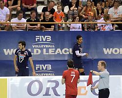 08-06-2014 NED: WLV Nederland - Portugal, Almere<br /> Miguel Rodrigues, Valdir Sequeira