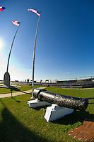 Cannons, Fort Sumter National Monument, Charleston harbor, South Carolina