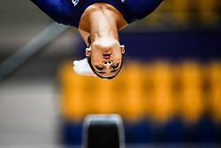 October 28, 2018 - Doha, Quatar - Marine Boyer of France   during  Uneven Bars qualification at the Aspire Dome in Doha, Qatar, Artistic FIG Gymnastics World Championships on 28 of October 2018. (Credit Image: © Ulrik Pedersen/NurPhoto via ZUMA Press)
