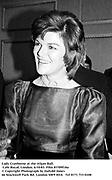 Lady Cranborne at the Afgan Ball. Cafe Royal, London. 6/10/83. Film 83709f18a<br />© Copyright Photograph by Dafydd Jones<br />66 Stockwell Park Rd. London SW9 0DA<br />Tel 0171 733 0108