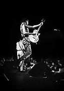Mick Jones and Joe Srtummer The Clash in concert London