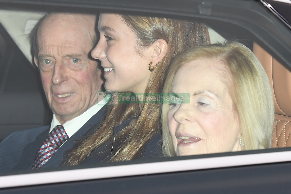 Members of The Royal Family attend The Queen's Pre Christmas Luncheon at Buckingham Palace, London, UK, on the 19th December 2017. 20 Dec 2017 Pictured: Members of The Royal Family attend The Queen's Pre Christmas Luncheon at Buckingham Palace, London, UK, on the 19th December 2017. Picture by James Whatling. Photo credit: James Whatling / MEGA TheMegaAgency.com +1 888 505 6342