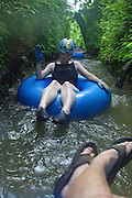 Kauai Backcountry Adventues, mountain tubing, Kauai, Hawaii, (editorial use only, no model release)<br />