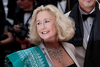 Brigitte Fossey at L'amant Double gala screening at the 70th Cannes Film Festival Friday 26th May 2017, Cannes, France. Photo credit: Doreen Kennedy