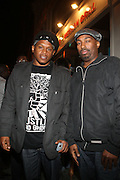 l to r: Sway and Rich Nice at Vanessa Simmons' Birthday Celebration held at Su Casa on August 7, 2009 in New York City