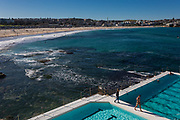 Sydney, Australia. Saturday 20th June 2020. The Bondi Icebergs Pool first weekened opened since coronavirus restrictions have been eased in Sydney's eastern suburbs.Credit Paul Lovelace/Alamy Live News