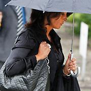 NLD/Amsterdam/20100826 - Uitvaart RTL journalist Conny Mus in Amsterdam, Rachel Hazes - van Galen