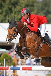 Ahlmann Christian (GER) - Charles 56<br /> World Championship Young Horses Lanaken 2009<br /> Photo© Dirk Caremans