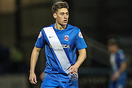 Scott Fenwick (Hartlepool United) during the Sky Bet League 2 match between Hartlepool United and Stevenage at Victoria Park, Hartlepool, England on 9 February 2016. Photo by Mark P Doherty.