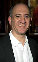 Armando Iannucci at  the press night of the brand-new comedy Magic Goes Wrong. Vaudeville Theatre. London.,8th jan 2010