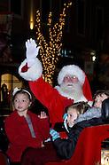 2011 - Santa parade and tree lighting celebration at The Greene towne square in Beavercreek