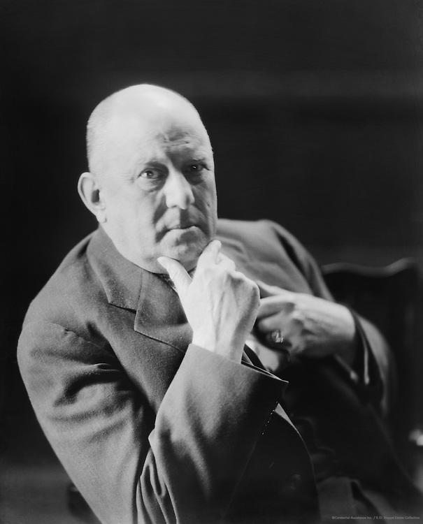Aleister Crowley, English Poet,1929