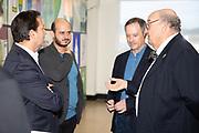 Reunión del Jurado y Rueda de Prensa con motivo de la Exposición de la Bienal Internacional de Cartelismo Publicitario Terras Gauda, Concurso Francisco Mantecón en la Estación Marítima de Vigo del 26 de octubre al 26 de noviembre de 2019.