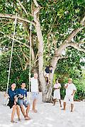 Staff at Nikoi Island