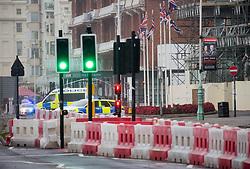 September 10, 2017 - London, London, United Kingdom - Image ©Licensed to i-Images Picture Agency. 10/09/2017. London, United Kingdom. Bomb scare, Grand Hotel, Brighton. Picture by Mark Thomas / i-Images (Credit Image: © Mark Thomas/i-Images via ZUMA Press)