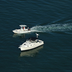 Aerial View of Palm Island Boaters