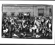 Survivors at the Trinity Ball, Cambridge. 18 June 1984. Film 84508f13<br /> © Copyright Photograph by Dafydd Jones<br /> 66 Stockwell Park Rd. London SW9 0DA<br /> Tel 0171 733 0108