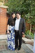 LEILA MALEKI, KAMIAR MALEKI, Dinner to celebrate the 10th Anniversary of Contemporary Istanbul Hosted at the Residence of Freda & Izak Uziyel, London. 23 June 2015