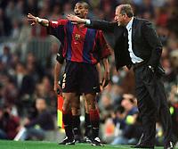 Fotball<br /> Barcelona Historie<br /> Foto: Miguelez/Digitalsport<br /> NORWAY ONLY<br /> <br /> 29.04.2001<br /> Reiziger - Rexach