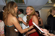 Javine and Cat Deeley. Glamour Women Of The Year Awards 2005, Berkeley Square, London.  June 7 2005. ONE TIME USE ONLY - DO NOT ARCHIVE  © Copyright Photograph by Dafydd Jones 66 Stockwell Park Rd. London SW9 0DA Tel 020 7733 0108 www.dafjones.com
