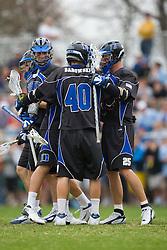 15 March 2008: Duke Blue Devils men's lacrosse in a 19-9 win over the North Carolina Tar Heels at Koskinen Stadium in Durham, NC