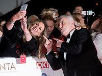 Eamonn Holmes  at the 25th National Television Awards, Arrivals, O2, London, UK 28 Jan 2020  photos by Brian Jordan