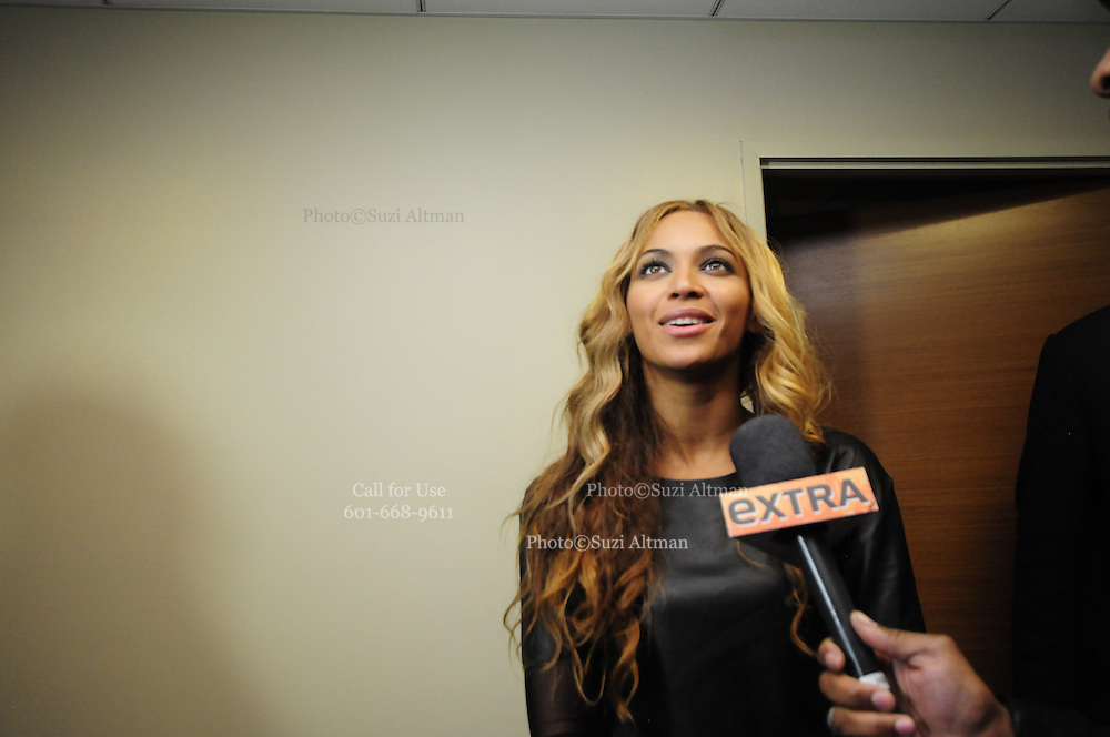 2/3/13 New Orleans LA.-NFL Super Bowl XLV11 Beyonce is seen leaving her suite after the Super Bowl XLV11 in New Orleans at  the Mercedes Benz Super Dome. Photo©Suzi Altman