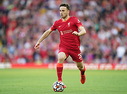 File photo dated 28-08-2021 of Liverpool's Diogo Jota. Liverpool forward Diogo Jota could be sent home early from international duty with Portugal as a muscle problem has prevented him training. Issue date: Monday October 11 2021.