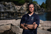 GREEN BAY, WISCONSIN - MAY 29, 2020: Parks, Recreation and Forestry Director for the City of Green Bay Dan Ditscheit poses for a portrait along the floating boardwalk at the Bay Beach Wildlife Sanctuary in Green Bay, Wisconsin on Friday, May 29, 2020. CREDIT: Ben Brewer for the New York Times