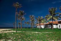 Ocean view from the hotel villas at Nam Hai Resort in Hoi An, Vietnam.