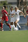 FAU WOMEN'S SOCCER vs Gardner-Webb, October 9, 2005.