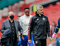 Football - 2021 / 2022 Pre-Season Friendly - Manchester United vs Everton - Old Trafford - Saturday 7th August 2021<br /> <br /> Manchester United Ole Gunnar Solskjaer walks back to the tunnel, at Old Trafford.<br /> <br /> COLORSPORT/ALAN MARTIN